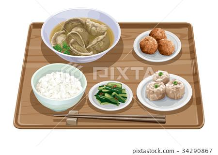 水餃套餐3 34290867