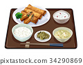套餐 定食 日式定食 34290869