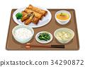 套餐 定食 日式定食 34290872
