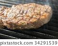 고기 요리, 스테이크, 바베큐 34291539