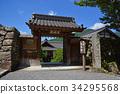 jikkoin, the tendai sect, temple gate 34295568