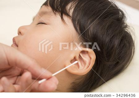 유아 귀이개 귀 청소 34296436