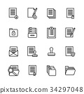 outline, icon, set 34297048