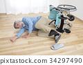 ตกอุบัติเหตุในรถเข็นคนพิการของผู้สูงอายุ 34297490