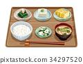 套餐 定食 日式定食 34297520