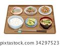套餐 定食 日式定食 34297523