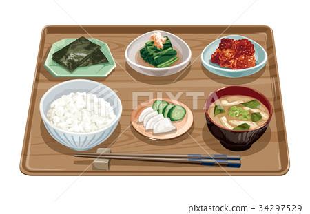 Morning set meal 10 34297529