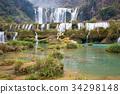 waterfall, china, yunnan province 34298148