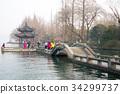 china, zhejiang province, lake saiko 34299737