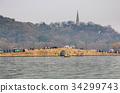 baochu pagoda, kintai bridge, hangzhou 34299743
