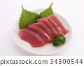 金槍魚生魚片 34300544