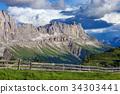 山 白雲石 阿爾卑斯山脈 34303441