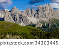 精彩的 白雲石 阿爾卑斯山脈 34303445