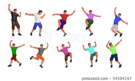 male dancer set 34304197