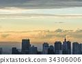 晚上的大城市 34306006