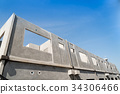 Prefabricated building. 34306466