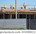 Construction of a new building 34306631