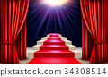 theater, concept, vector 34308514