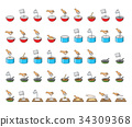 big collection of cooking symbols 34309368