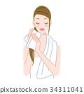 护发毛巾 34311041