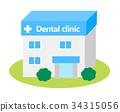 치과의사, 치과, 건물 34315056