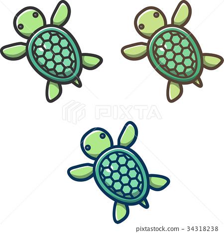 turtle, vector, vectors 34318238