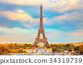 Eiffel Tower in Paris 34319739