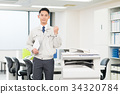 คนงาน (สำนักงาน) 34320784