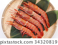 새우, 해산물, 씨푸드 34320819