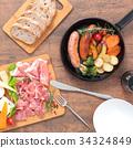 回鍋 料理 菜餚 34324849