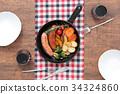回鍋 香腸 烹飪 34324860