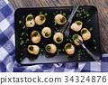 snail escargot food 34324876