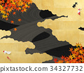 gold leaf, maple, yellow leafe 34327732