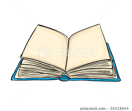open book cartoon vector symbol icon design.  34328044