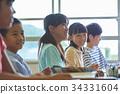 초등학교 수업 교실 34331604