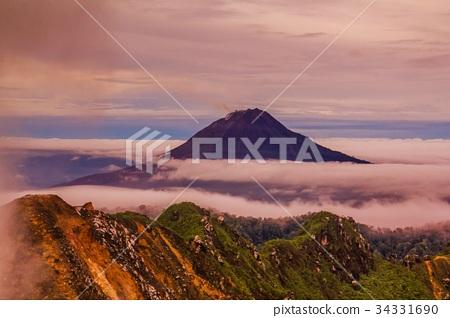 Gunung Sinabung Volcano 34331690
