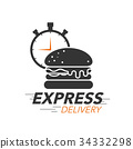 Express delivery icon concept. 34332298