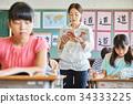 小学生 学习 课程 34333225