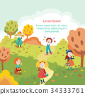 autumn, kid, fall 34333761