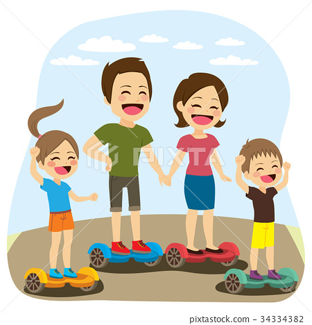 Family Hoverboard 34334382
