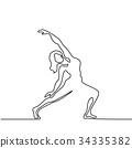 person, yoga, woman 34335382