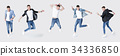 man, jeans, jacket 34336850