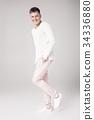 man, white, handsome 34336880