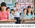 小学生 学习 课程 34338637