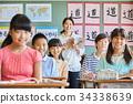 小学生 学习 课程 34338639
