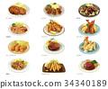 食物 食品 家常菜 34340189