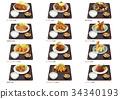 食物 食品 套餐 34340193