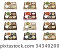 食物 食品 套餐 34340200