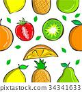 Collection fruit fresh pattern style 34341633