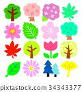 식물 세트 34343377